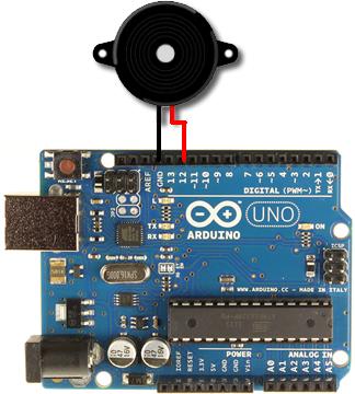 Arduino圧電ブザー